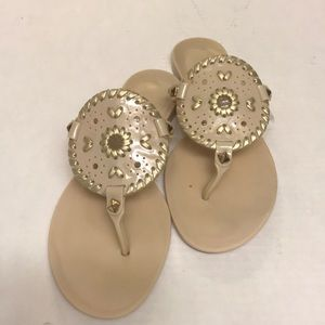 """Jack Rogers """"Georgica"""" Jelly Sandals.  Size 7"""